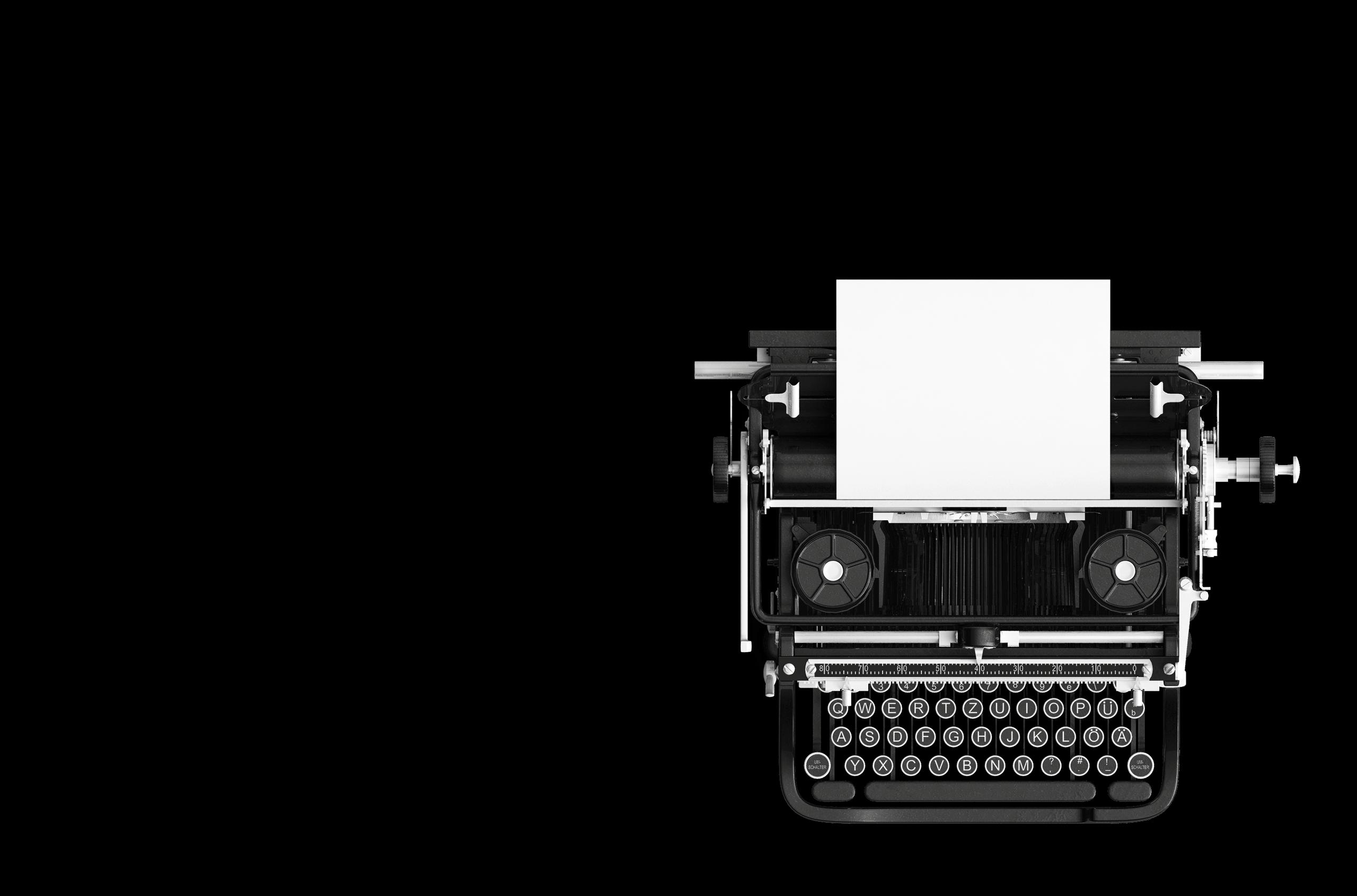 Schreibmaschine | Ratsstüble